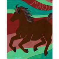 【日本画】3/19 Horseウマ『366DAYS』