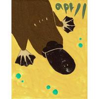 【日本画】4/11 Platypusカモノハシ『366DAYS』