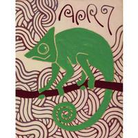 【日本画】4/7 Chameleonカメレオン『366DAYS』