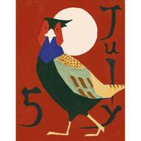 【日本画】7/5 Pheasantキジ 『366DAYS』