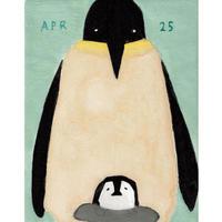【日本画】4/25 Emperor penguinコウテイペンギン 『366DAYS』