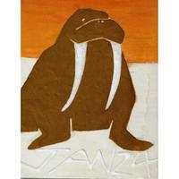 【日本画】1/24 Walrusセイウチ『366DAYS』