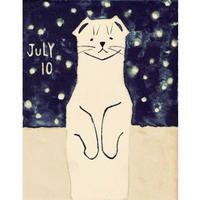 【日本画】7/10 Ermineオコジョ『366DAYS』
