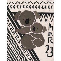 【日本画】3/23 Koalaコアラ『366DAYS』