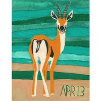 【日本画】4/13 Gazelleガゼル『366DAYS』