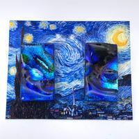 ゴッホ:星月夜(スターリーナイト)ピアス (0061)