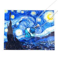 ゴッホ:星月夜(スターリーナイト)ネックレス (0083)