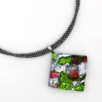 天然石チェーンネックレス(0018)