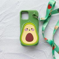 アボカドポケット付きiPhoneケース