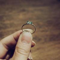 キレートレモンの欠片の指輪
