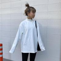 リブハイネックTOPS(ミニ裏) #099