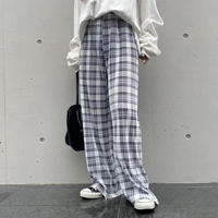 «SETITEM♥»TOPS×プリーツpants「check」