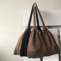 ニットバッグ「巾ちゃん」