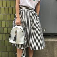 【¥5,390→¥2,500】ストライプひらひらスカート