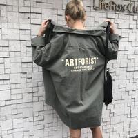 LONGシャツJK「ARTFORIST」