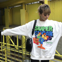 ミニ裏スウェット「SUPER」