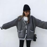 LINEカーデジャケット「vintageくん」