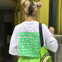 チュニックTシャツ「FAITH」