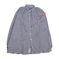 AYH PIRATE GINGHAM CHECK GATHER SHIRTS