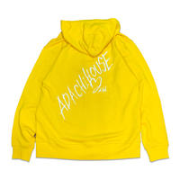 HAND WRITING ZIP HOODY