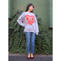 AYH MEGANE HEART CREWNECK SWEAT