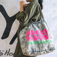 CHEMICAL DENIM BIG TOTE BAG
