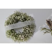 かすみ草white wreathe