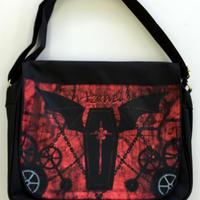 Azrael オリジナルプリントメッセンジャーバッグ