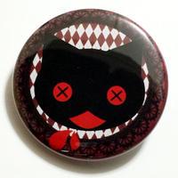 吐血ネコ缶バッチ