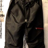 オールドモデルCHINA製 THIGH ZIPPER NYLON Jersey Pants美品