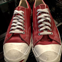 80,s vintage 希少U.S.A. Jack Purcell Leather Low 超目玉美品