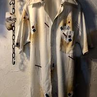 70,s vintage U.S.A. 希少四角ポケットストレッチポリShirt美品