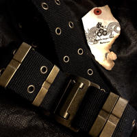 90,s MADE IN FRANCE agnis b. ARMY BELT美品