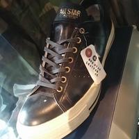 CONVERSE ONE STAR LEATHER OX BLACK BOX付ユーズド美品スペシャルプライス