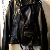 〈目玉〉vanson 人気C2ライダースジャケット極上美品34スペシャルプライス