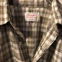 70,s U.S.A.製 Wrangler Long Tail Shirt