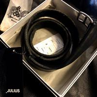 JULIUS 14SS COWLEATHER LONG BELT BOX&商品タグ付スペシャルプライス