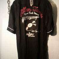 King Mob by 666 Rockabilly Shirt極上美品