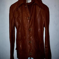 70,s U.S.A. LEATHER SHIRT BOLDEAUXヴィンテージ美品