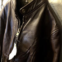 70,s MADE IN U.S.A. TALONジッパーSINGLE RIDERS JACKET BROWNヴィンテージ美品