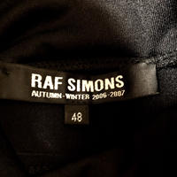 RAF SIMONS MADE IN ITALY 2006-2007 Rロゴ ストレッチハイネック