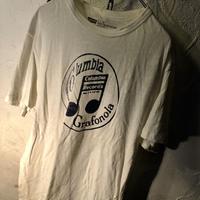 80,s Levi's 希少パキ綿  Columbia Records Tee