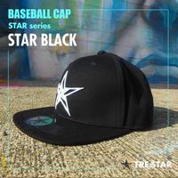 トレスター ベースボールキャップ スター ブラック