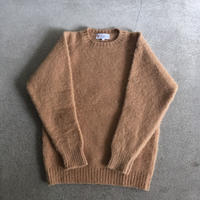Shetland Woollen Co.  Shaggy dog sweater( Cashew-M/L )