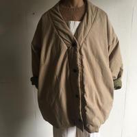 Yarmo  Quilt Lined V Jacket( Beige )