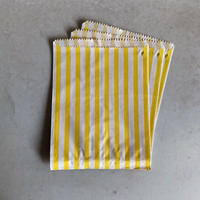 Yellow Candy Stripe Bag ( M ) 10枚セット