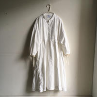 Yarmo  Gathered Dress(White)