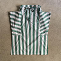Yarmo  Side Pocket Apron Candy Stripe(Green)