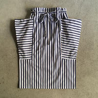 Yarmo  Side Pocket Apron Candy Stripe(Navy)