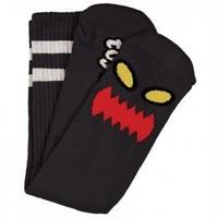 "Toy Machine / ""Monster Face Sock"" Black"
